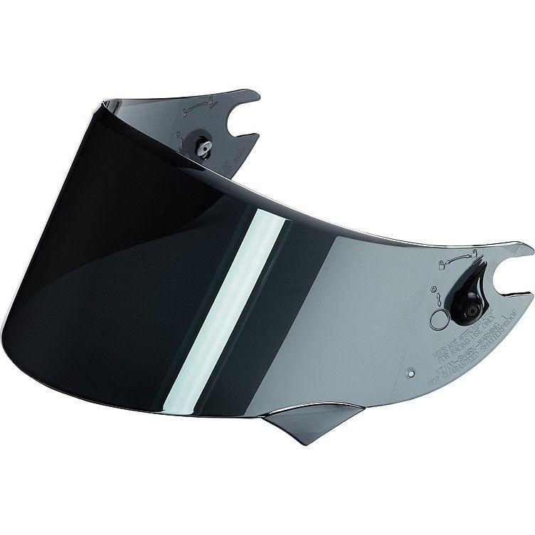 Plexi Shark Race-R, Race-R Pro - hledí chromové