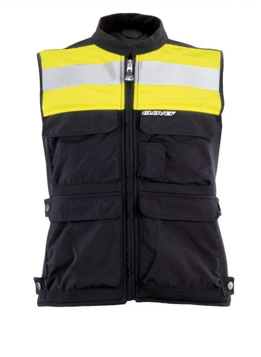 Reflexní vesta Clover s páteřovým chráničem