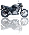 Výfuk Ixil Honda CB 500 / S (93-04) Černý