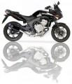 Výfuk Ixil Honda CBF 600 (04-11) Černý
