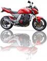 Výfuk Ixil Kawasaki Z 1000 (03-06) Nerez2-1 Svod na pravo