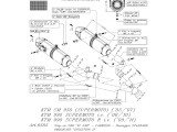 Výfuky Leo Vince KTM Supermoto 990 SM (08-12) Carbon