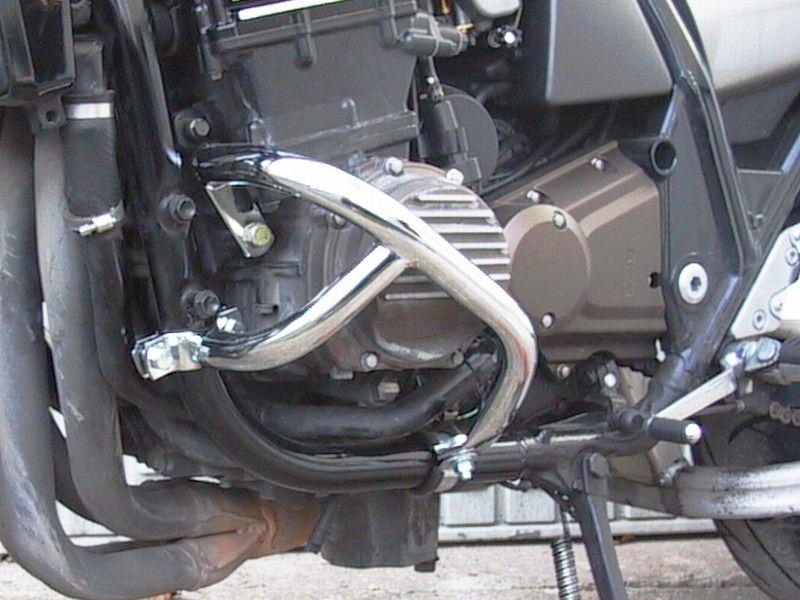 Padací rámy Kawasaki ZRX 1100 / 1200 černé Fehling