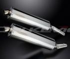 Výfuky Delkevic Kawasaki Z 1000 / SX (10-13) Nerez 450mm