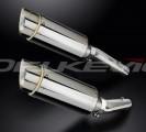 Výfuky Delkevic Kawasaki Z 1000 / SX (10-13) Nerez 200mm