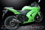 Výfuk Delkevic Kawasaki Ninja 250 R (08-12) Nerez 200mm