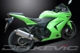 Výfuk Delkevic Kawasaki Ninja 250 R (08-12) Nerez 350mm