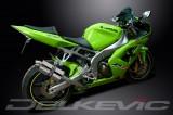 Výfuk Delkevic Kawasaki ZX-6R Ninja (03-04) Nerez 225mm