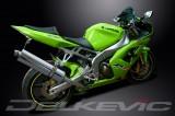 Výfuk Delkevic Kawasaki ZX-6R Ninja (03-04) Nerez 450mm
