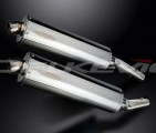 Výfuky Delkevic Kawasaki Z 1000 (03-06) Nerez 450mm