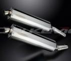 Výfuky Delkevic Kawasaki ZZR 1400 (06-07) Nerez 450mm