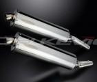 Výfuky Delkevic Kawasaki ZZR 1400 (08-11) Nerez 450mm