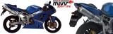 Výfuk Mivv Kawasaki ZX-6R Ninja (03-04) Oval Nerez Up