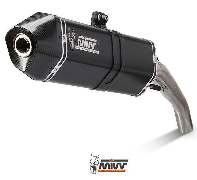 Výfuk Mivv Moto Guzzi Breva 1200 (07-) Speed Black
