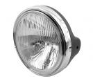 Přední světlo na moto H4 kulaté