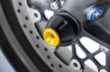 Padací protektory do přední osy kola Kawasaki Z750 /R (07-11) RD moto