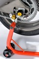 Padací protektory do zadní osy kola Kawasaki Z1000 (07-09) RD moto
