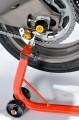 Padací protektory do zadní osy kola Kawasaki ZX-6R / RR (09-12) RD moto