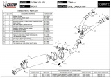 Výfuk Mivv Suzuki SV 650 (04-05) Oval Titan