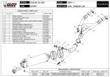 Výfuk Mivv Suzuki SV 650 (06-12) Oval Carbon