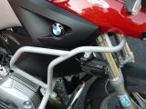 Padací rámy BMW R 1200 GS (04-07) Stříbrné-vrchní na kapoty