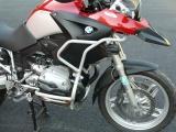 Padací rámy BMW R 1200 GS (04-07) Stříbrné-vrchní na kapoty RD moto