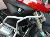 Padací rámy BMW R 1200 GS (04-07) Stříbrné - Komplet RD moto