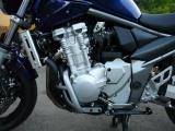Padací rámy Suzuki GSF 650 Bandit (07-) Stříbrné RD moto
