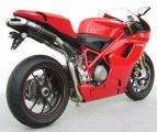 Výfuky Zard Ducati 1198 (08-10) Underseat