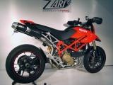 Výfuky Zard Ducati Hypermotard 1100 (07-) Top Gun