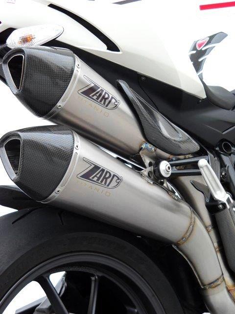 Výfuk Zard Ducati Streetfighter 1098 (09-) System