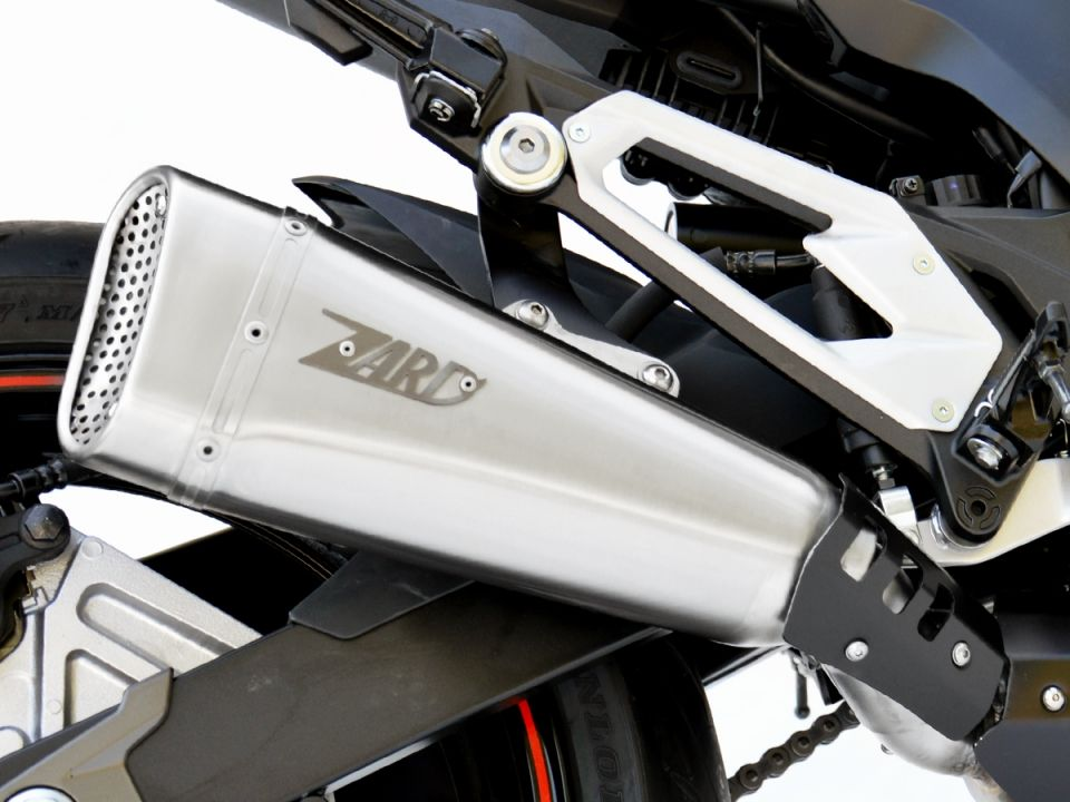 Výfuk Zard Kawasaki Z 800 E (13-16) Nerez
