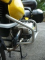 Padací rámy BMW R 1150 GS Stříbrné RD moto