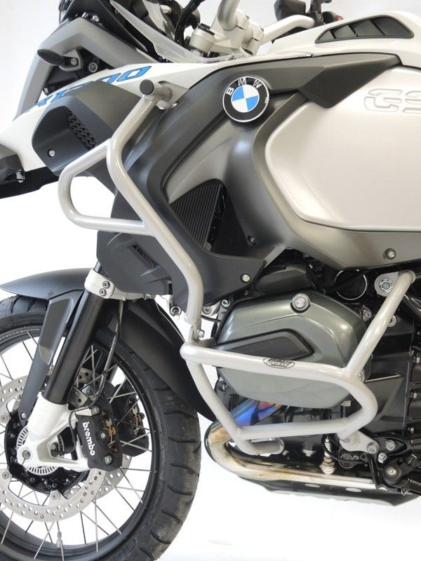 Padací rámy BMW R 1200 GS LC (14-) Stříbrné - Komplet RD moto