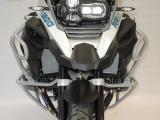 Padací rámy BMW R 1200 GS LC (14-) Stříbrné-Spodní na motor RD moto