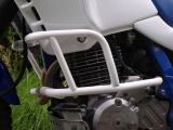Padací rámy Honda NX 650 Dominator Bílé