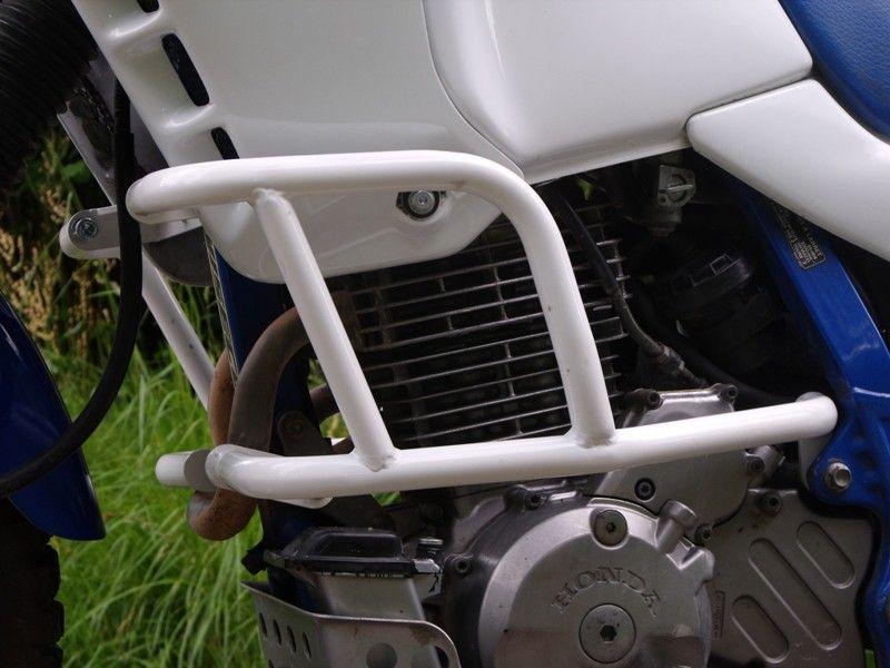 Padací rámy Honda NX 650 Dominator Bílé RD moto