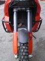 Padací rámy KTM 950 Adventure Černé RD moto