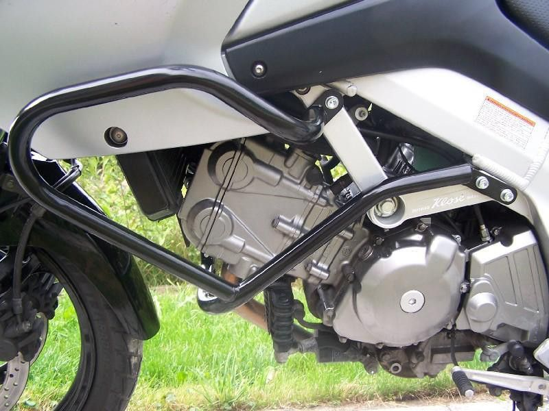 Padací rámy Suzuki DL 650 V-Strom (04-10) Černé RD moto