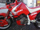 Padací rámy Suzuki DR 750 Big Černé RD moto