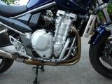 Padací rámy Suzuki GSF 650 Bandit (07-) Černé RD moto