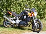 Padací rámy Yamaha BT 1100 Bulldog Černé
