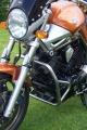 Padací rámy Yamaha BT 1100 Bulldog Stříbrné