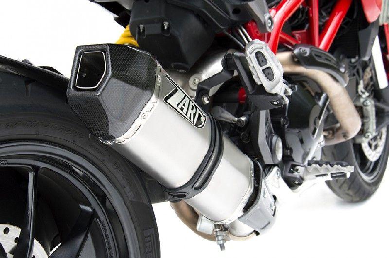 Výfuk Zard Ducati Hypermotard 821 (13-16) Nerez