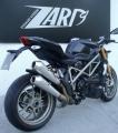 Výfuk Zard Ducati Streetfighter 1098 (09-) Nerez