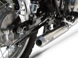 Výfuk Zard Kawasaki W 800 Nerez Systém