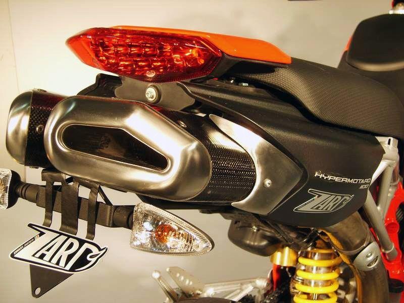 Výfuky Zard Ducati Hypermotard 796 (10-) Penta