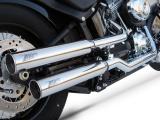 Výfuky Zard Harley Davidson Black Line (07-) Nerez