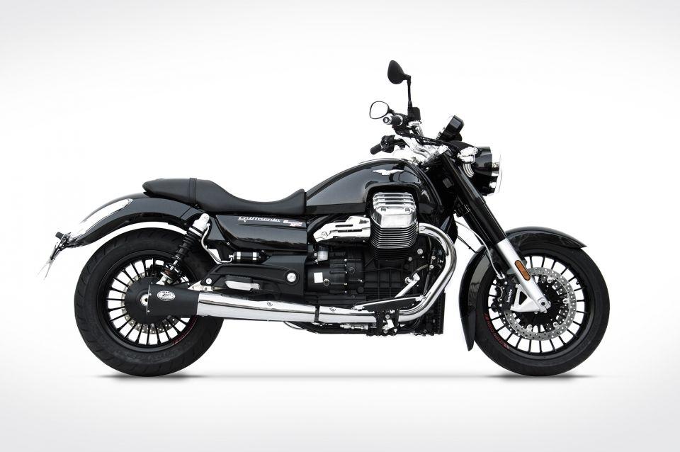 Výfuky Zard Moto Guzzi California (13-) Black