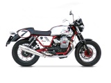 Výfuky Zard Moto Guzzi V7 Clasic / Stone (08-15) Black
